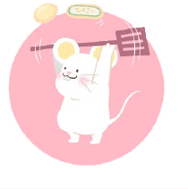 灰色老鼠-Sticker messages sticker-7