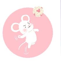 灰色老鼠-Sticker messages sticker-1