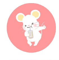 灰色老鼠-Sticker messages sticker-6