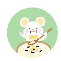 灰色老鼠-Sticker messages sticker-2
