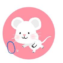 灰色老鼠-Sticker messages sticker-9
