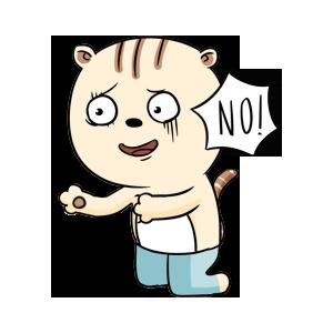 DouDouCat messages sticker-0