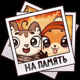 Stickers: Autumn·Friendship messages sticker-5