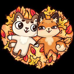 Stickers: Autumn·Friendship messages sticker-3
