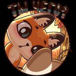 Stickers: Autumn·Friendship messages sticker-8