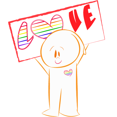 Toto Lgbtq Sticker messages sticker-0