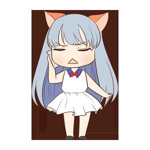 CatGirlSticker messages sticker-1