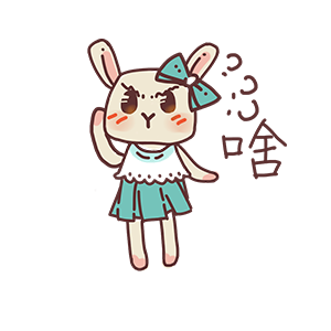 Fairy Little Bunny messages sticker-1