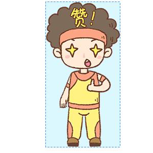 蓬蓬头健美教练 messages sticker-6