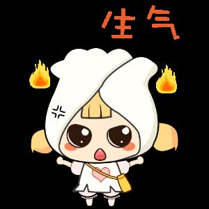 幽默饺子 messages sticker-1