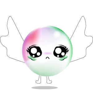 Cartoons Bubble messages sticker-6