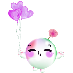 Cartoons Bubble messages sticker-1