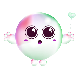Cartoons Bubble messages sticker-10