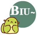 Cute Biu messages sticker-2