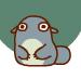 Cute Biu messages sticker-8