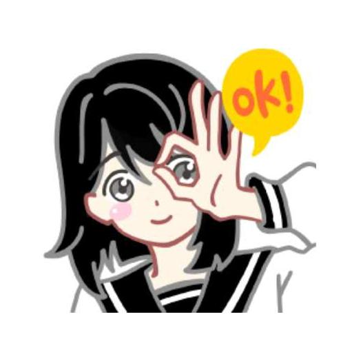 樱花中文版STICKER messages sticker-11