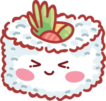 Kawaii Stickers - Food messages sticker-10