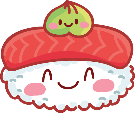 Kawaii Stickers - Food messages sticker-8