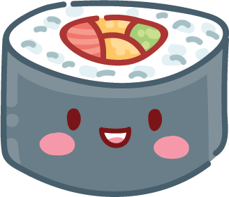 Kawaii Stickers - Food messages sticker-9