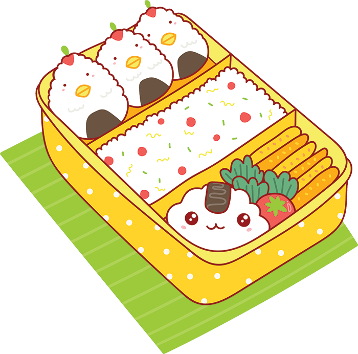 Kawaii Stickers - Food messages sticker-3