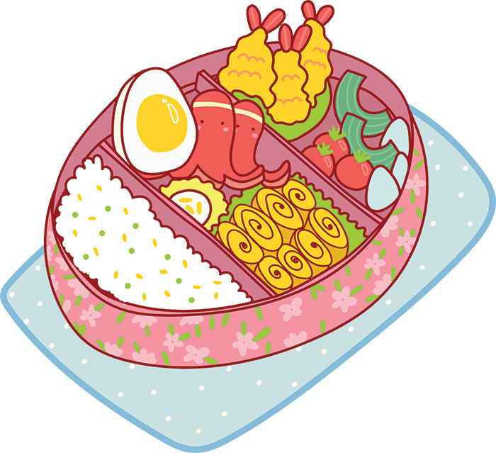 Kawaii Stickers - Food messages sticker-1
