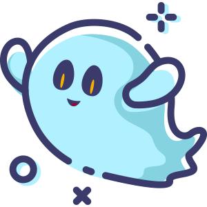 Blue Little Specter messages sticker-6