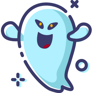 Blue Little Specter messages sticker-9