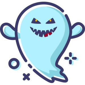 Blue Little Specter messages sticker-11