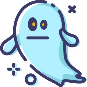 Blue Little Specter messages sticker-8