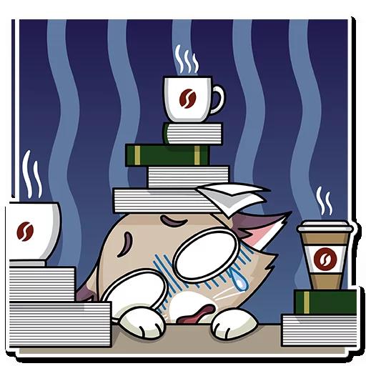 有趣猫 messages sticker-6