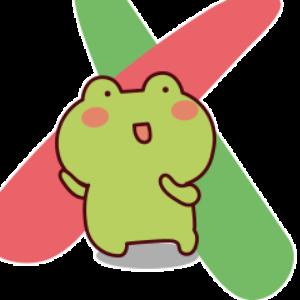 下雨呱呱蛙 messages sticker-11