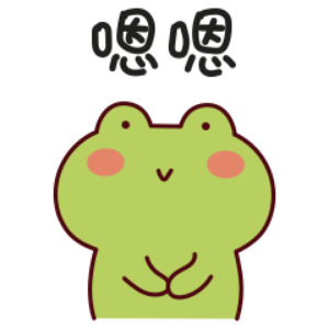 下雨呱呱蛙 messages sticker-5