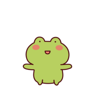 下雨呱呱蛙 messages sticker-7