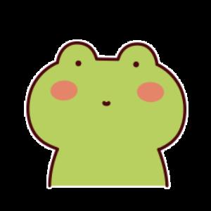 下雨呱呱蛙 messages sticker-3