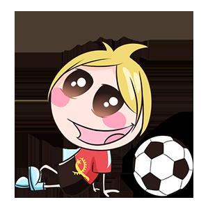 宝宝踢球SHOW messages sticker-7