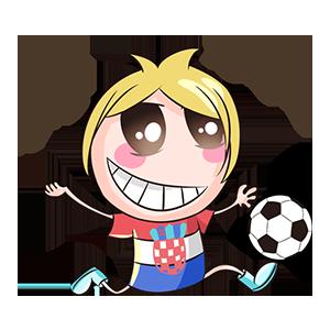 宝宝踢球SHOW messages sticker-11