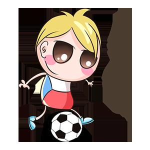 宝宝踢球SHOW messages sticker-1