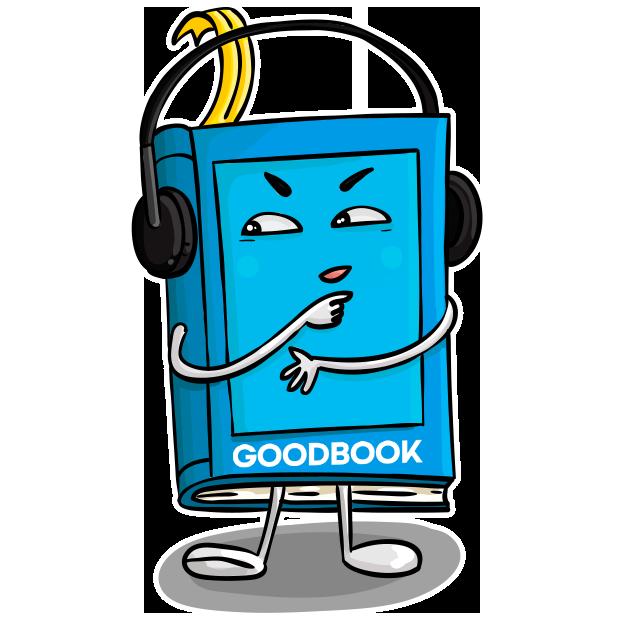 Goodbook - Books Key Insights messages sticker-2