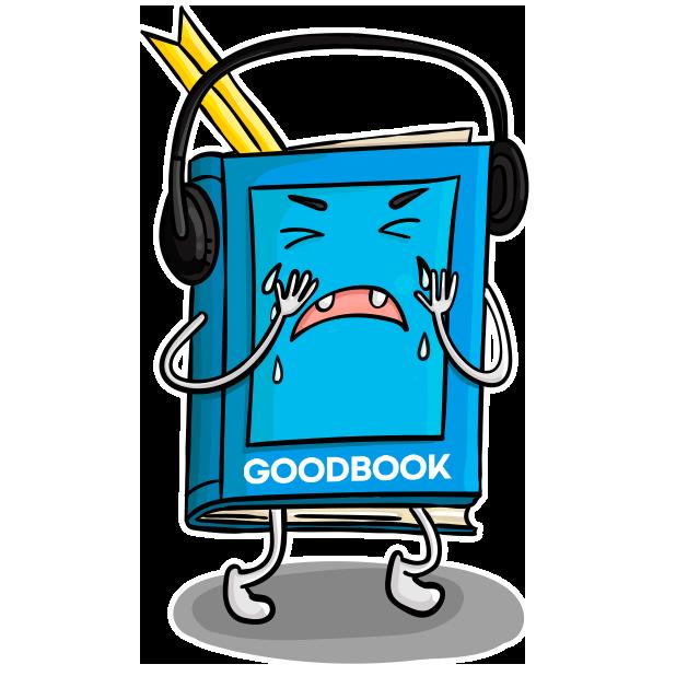 Goodbook - Books Key Insights messages sticker-0