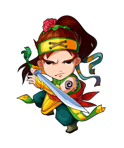 三国英雄贴 messages sticker-6