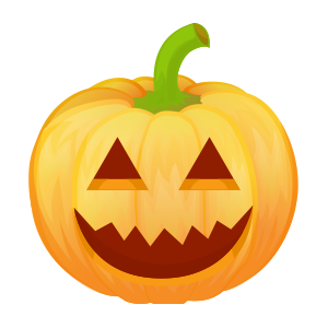 Halloween Pumpkin Lantern messages sticker-5
