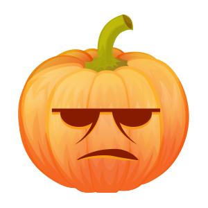Halloween Pumpkin Lantern messages sticker-3