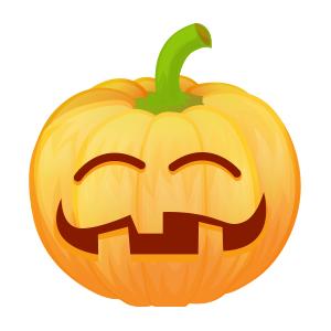 Halloween Pumpkin Lantern messages sticker-0