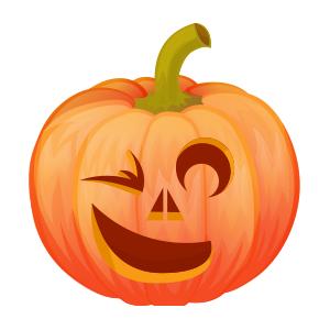 Halloween Pumpkin Lantern messages sticker-8