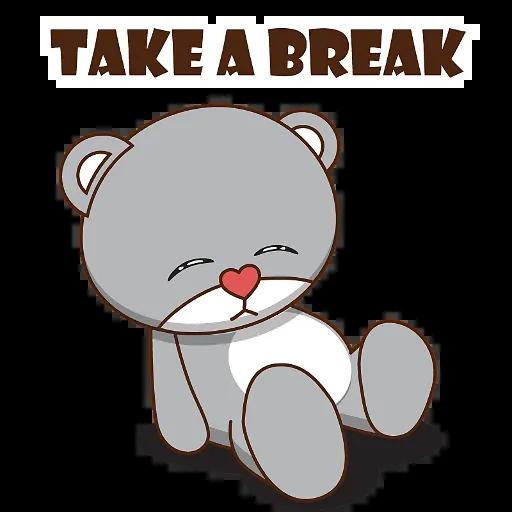 LittleBear-editor messages sticker-9