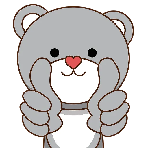 LittleBear-editor messages sticker-10