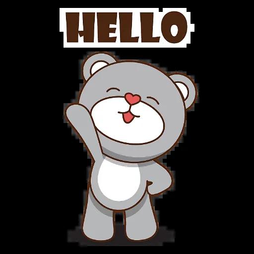 LittleBear-editor messages sticker-2