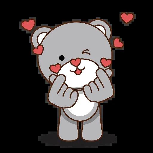 LittleBear-editor messages sticker-3