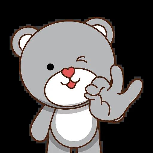 LittleBear-editor messages sticker-5
