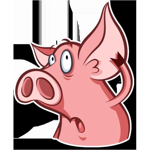 皮特猪-斗图神器 messages sticker-1